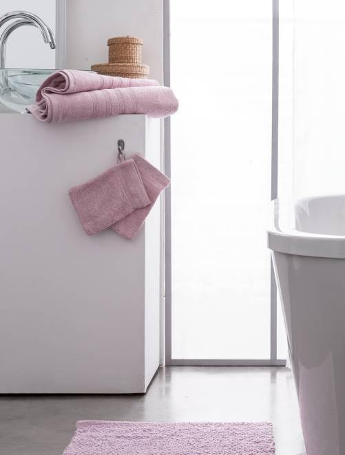 Set 2 asciugamani 30 x 50 cm                                                                                                                                                                                                     rosa Casa