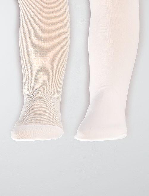 Set 2 calzamaglie                                                     bianco neve