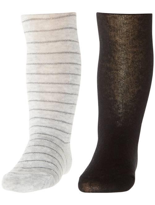 Set 2 calzamaglie                             grigio scuro Neonata