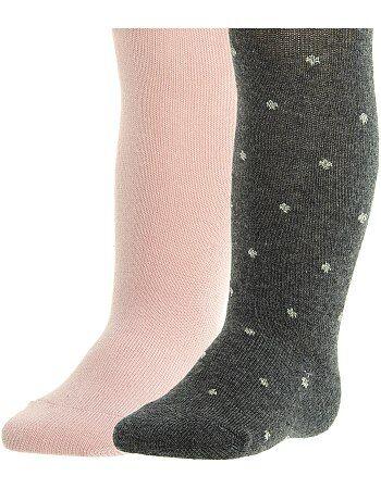 Bambina 3-12 anni - Set 2 calzamaglie - Kiabi