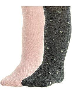 Calze, calzini - Set 2 calzamaglie - Kiabi