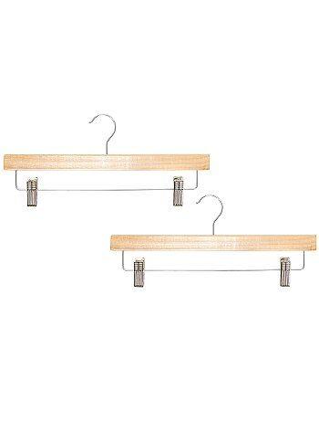 Set 2 grucce pinze legno naturale - Kiabi