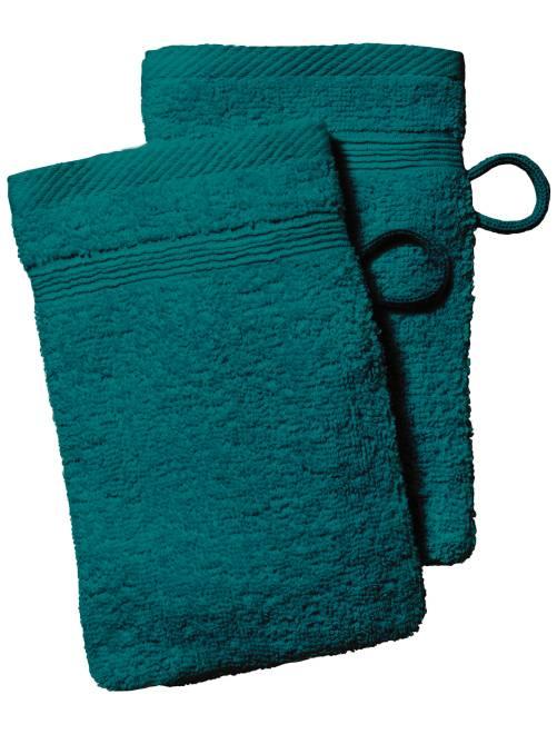 Set 2 guanti da toilette                                                                                                                                                                              Casa