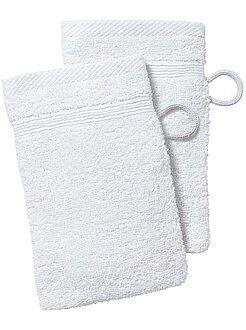 Asciugamano - Set 2 guanti da toilette