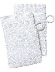 Set 2 guanti da toilette