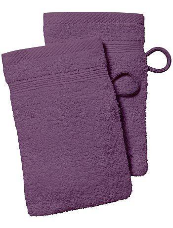 Set 2 guanti da toilette - Kiabi