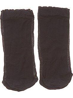Intimo dalla S alla XXL - Set 2 paia calzini alla caviglia - Kiabi