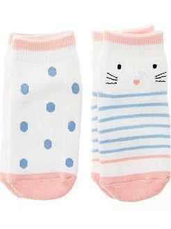 Calze, collant - Set 2 paia calzini antiscivolo