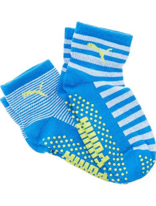 Set 2 paia calzini antiscivolo 'Puma'                                         blu