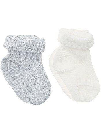 Set 2 paia calzini con risvolto - Kiabi