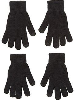 Sciarpe, guanti, berretti - Set 2 paia guanti tattili