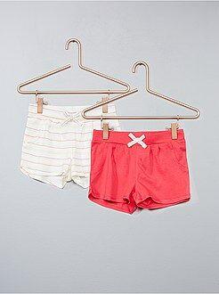 Set 2 pantaloncini - Kiabi