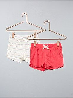 Bambina 3-12 anni - Set 2 pantaloncini - Kiabi