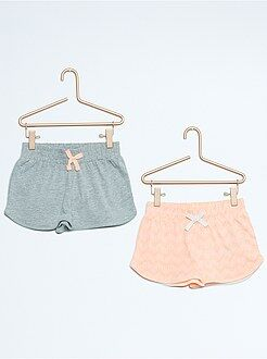 Set 2 pantaloncini cotone