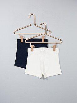 Bambina 3-12 anni - Set 2 pantaloncini jersey - Kiabi