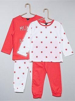 Set 2 pigiami stampati - Kiabi