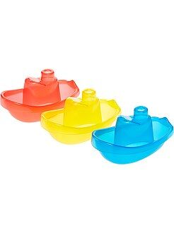 Peluche - Set 3 barche galleggianti per il bagno