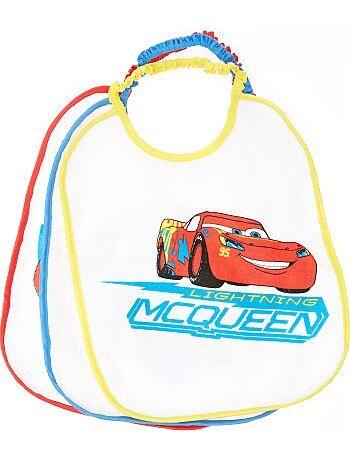 Set 3 bavaglini 'Saetta McQueen' 'Disney' - Kiabi