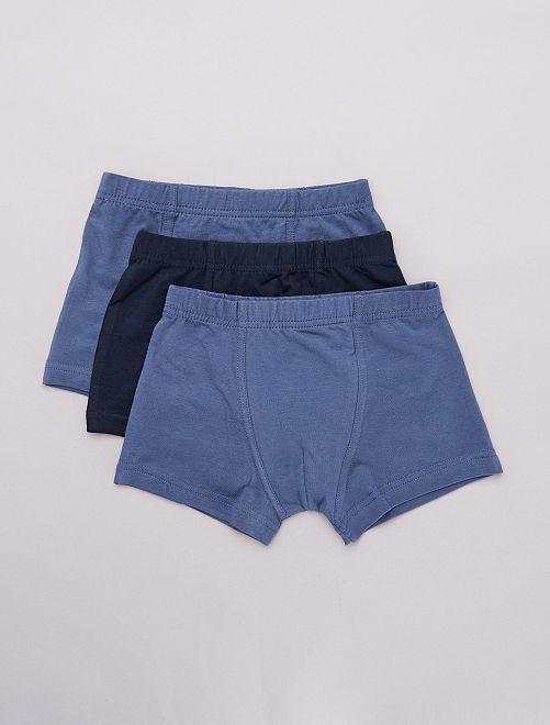 Set 3 boxer                                         blu