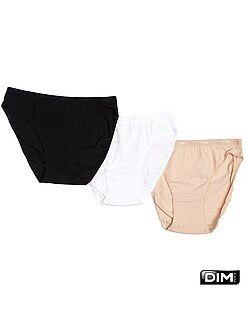 Intimo dalla S alla XXL - Set 3 boxer cotone stretch 'Dim' - Kiabi