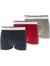 Set 3 boxer cotone stretch
