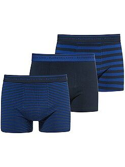 Boxer basic - Set 3 boxer cotone stretch taglie forti