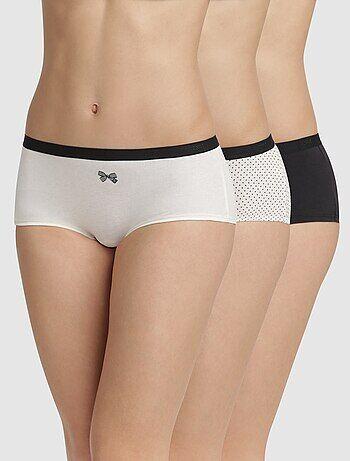 Intimo dalla S alla XXL - Set 3 boxer 'Les Pockets' di 'DIM' - Kiabi