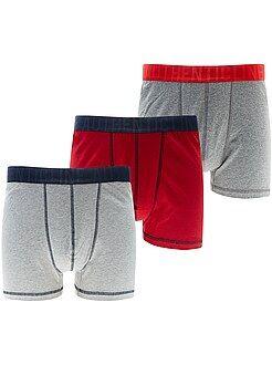 Intimo - Set 3 boxer taglie forti