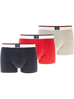 Boxer basic - Set 3 boxer tinta unita