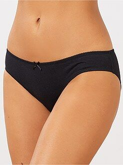 Intimo in lotto - Set 3 mutandine cotone