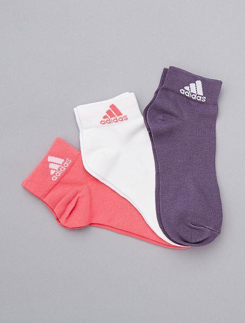 Set 3 paia calzini 'Adidas'                     ROSA Uomo