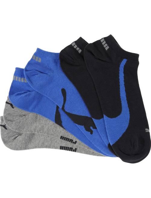 Set 3 paia calzini alla caviglia 'Puma'                             blu