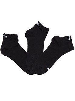 Calze - Set 3 paia calzini gambale corto 'Puma'