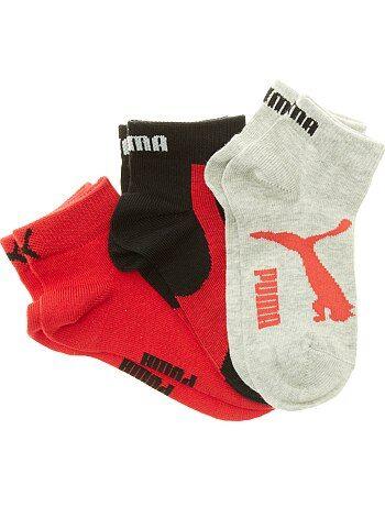 Bambina 3-12 anni - Set 3 paia calzini gambale corto 'Puma' - Kiabi