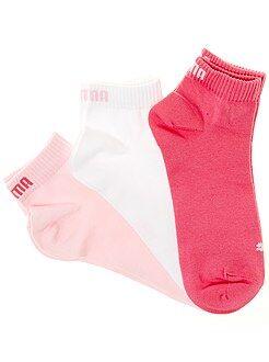 Collant, calze - Set 3 paia calzini gambale corto 'Puma' - Kiabi