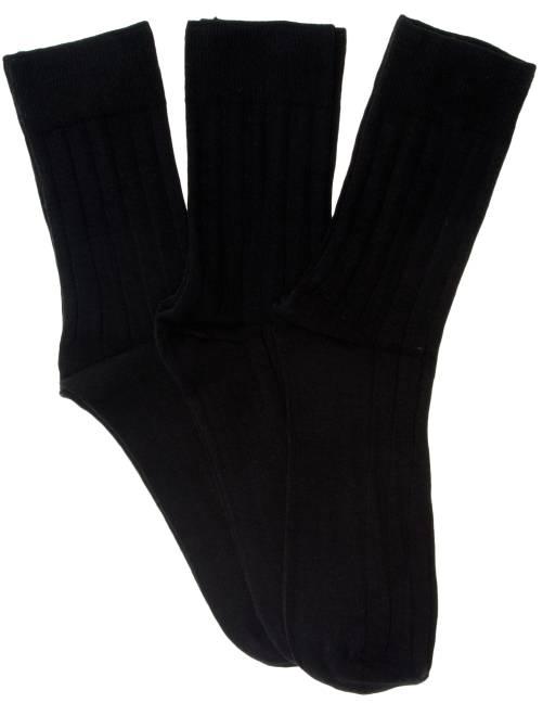 Set 3 paia calzini                                         nero Uomo