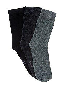 Set 3 paia calzini