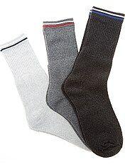 Set 3 paia calzini sport