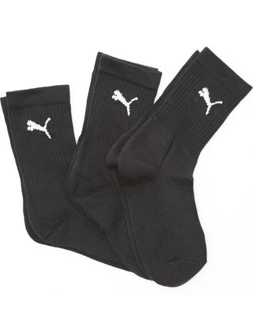 Set 3 paia calzini sport 'Puma'                                                                 nero