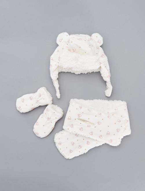Set 3 pezzi 'Minnie'                             BEIGE Neonata