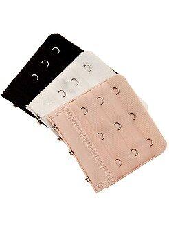 Accessori intimo - Set 3 prolunghe reggiseno - Kiabi