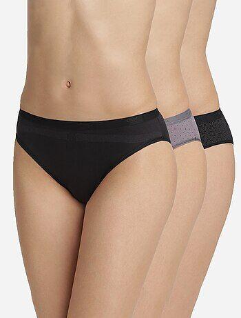 Set 3 slip 'Les Pockets' di DIM - Kiabi