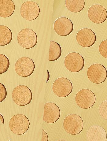 Set 3 tavolette legno di cedro antitarme Casa - beige - Kiabi - 5,00€