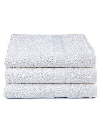 Set 3 teli doccia puro cotone - Kiabi
