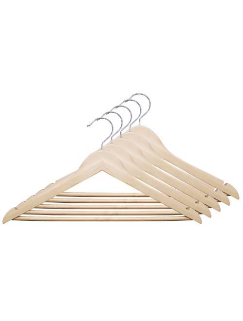 Set 5 grucce legno naturale                             legno