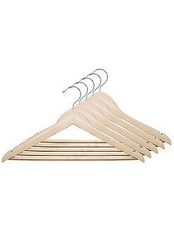 Set 5 grucce legno naturale