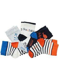 Calze, collant - Set 5 paia calzini animali