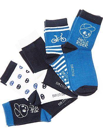 Set 5 paia calzini 'bicicletta' - Kiabi