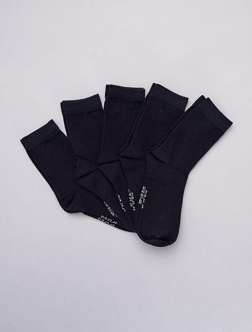 Set 5 paia calzini                                                                 BLU