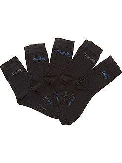 Calze - Set 5 paia calzini 'giorno della settimana'